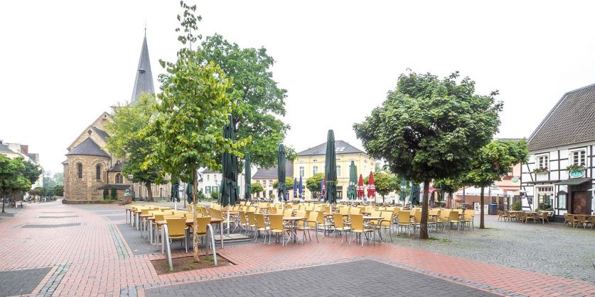 Platz am Markt in Hilden